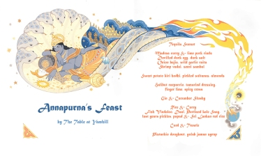 Annapurna's Feast Menu